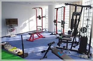充実のトレーニングルームイメージ